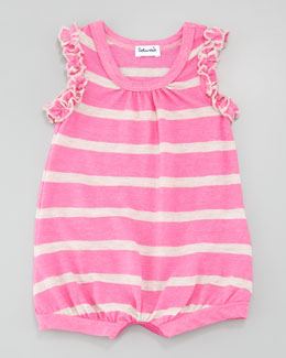 Splendid Littles Sugarcane Bubble Playsuit, Parfait Pink, 3-12 months