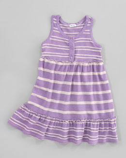 Splendid Littles Sugarcane Striped Tank Dress, Jellyfish