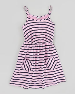 Splendid Littles Miami Striped Dress, Sizes 4-6X