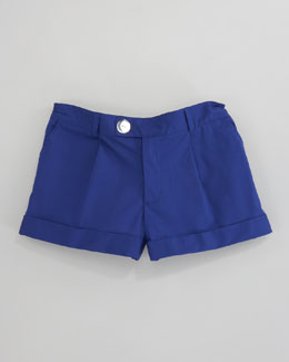 Milly Minis Bow Pocket Short, Sizes 8-10