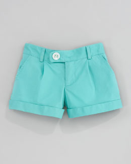 Milly Minis Bow Pocket Shorts, Sizes 8-10