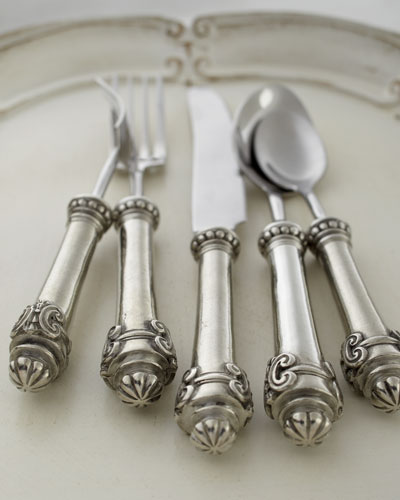 Vagabond House Five-Piece Medici Flatware Place Setting
