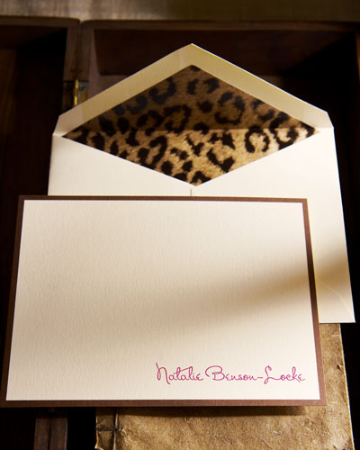 """Wild Thing"" Correspondence Cards"