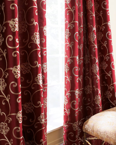 Paris Embroidered Curtains