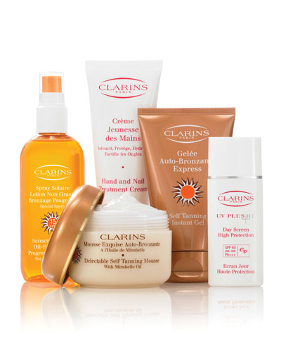 Clarins Self Tanning Collection