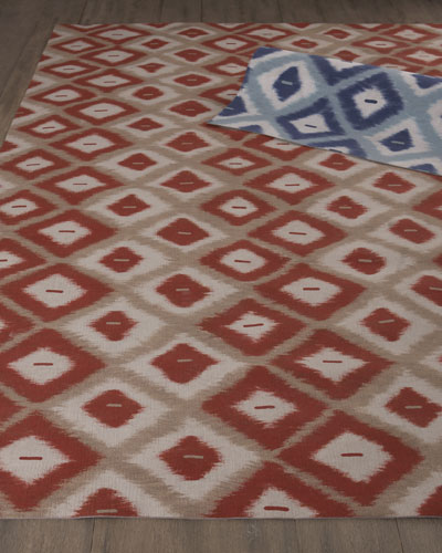 """Middleton"" Ikat Indoor/Outdoor Rug"