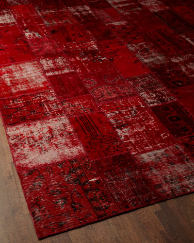 """Red Tarkan"" Rug"