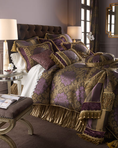 """Dian Austin Couture Home """"Palatial"""" Bed Linens"""