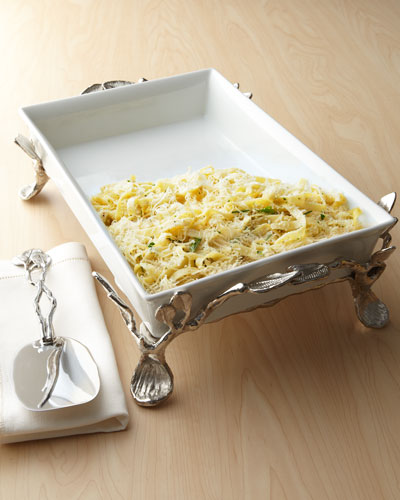 Michael Aram Sleepy Hollow Three-Quart Casserole & Casserole Server
