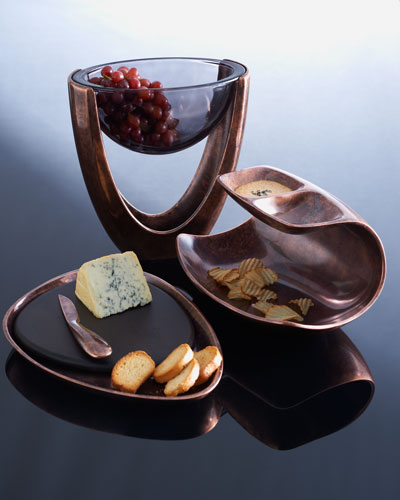 "Nambe ""Heritage"" Serving Pieces"