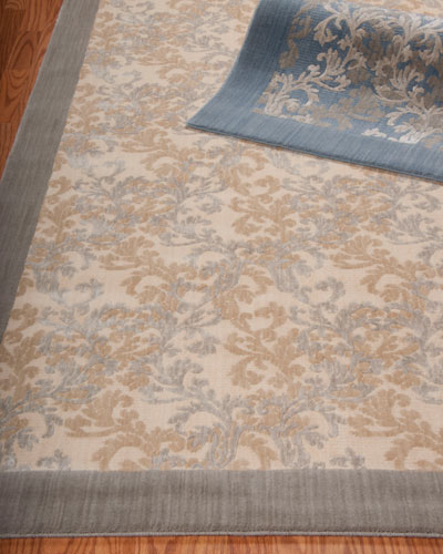 "Barclay Butera Lifestyle ""Dove Vines"" Flatweave Rug"