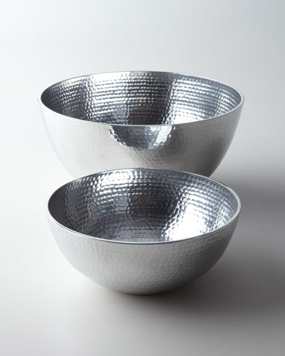 "Towle ""Hammered"" Bowls"