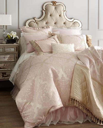 """Fino Lino Linen & Lace """"Juliette"""" Bed Linens"""