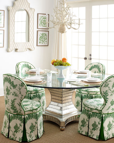 Erlinda Dining Table & Garden Dining Chair