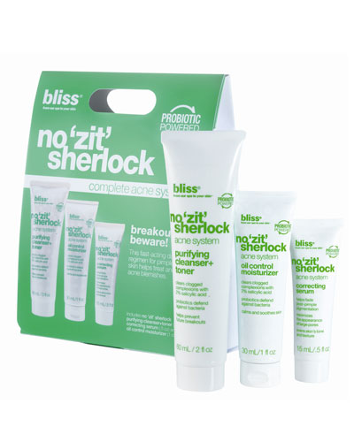 Bliss no 'zit' sherlock kit