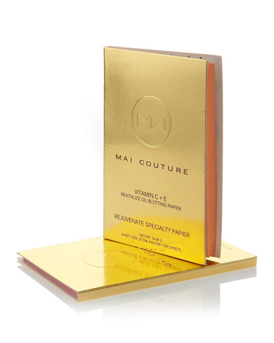 Mai Couture Mai Couture Vitamin C + Rejuvenate Oil Blotting Papier