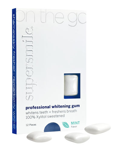 On the Go Whitening Gum