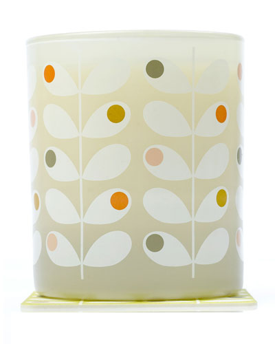 Orla Kiely Fig Tree Scented Vegetable Wax Candle
