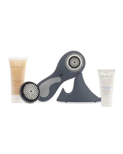 Clarisonic PLUS, Face & Body Sonic Cleansing, Gray