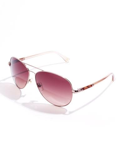 MICHAEL Michael Kors Karmen Aviator Sunglasses