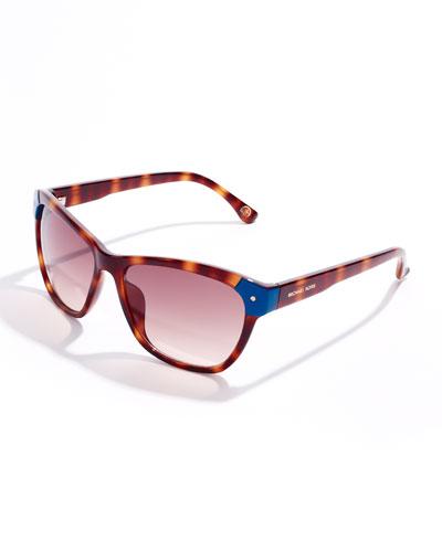 MICHAEL Michael Kors Savannah Cat-Eye Sunglasses