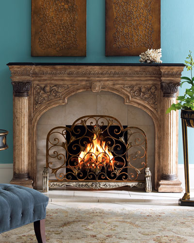 Arched Fireplace Screen