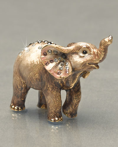 "Jay Strongwater ""Ruby"" Elephant Mini Figurine"