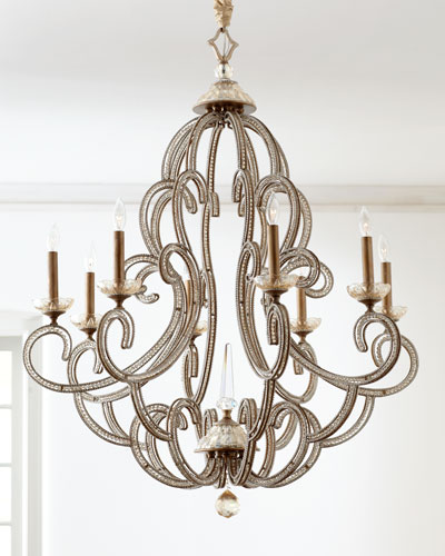 "John-Richard Collection ""Beaded Elegance"" Chandelier"