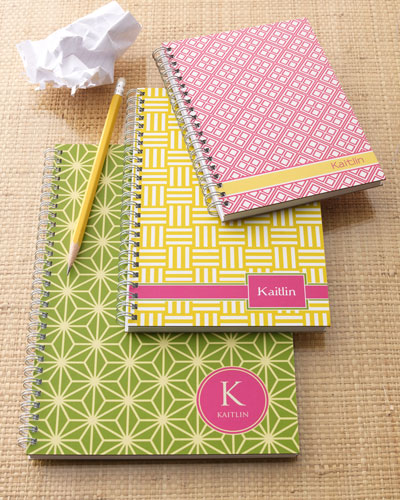 """Preppy Mod"" Notebook Set"