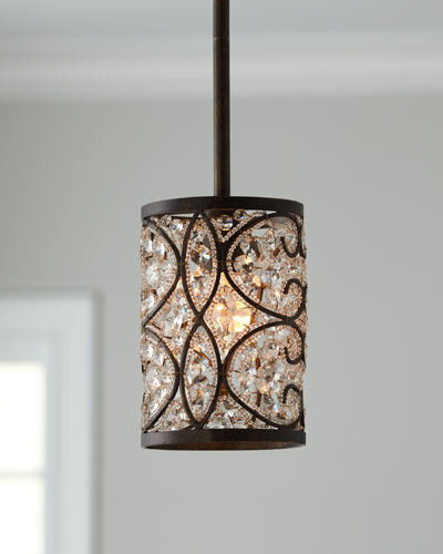"""Crystalline"" Mini Pendant Light"