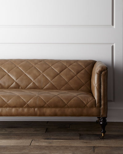 """Old Hickory Tannery """"Canyon"""" Sofa"""