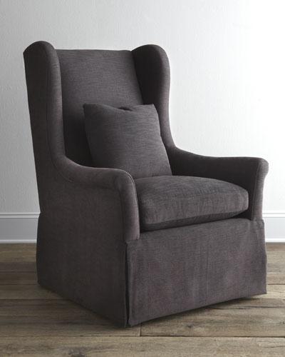 """Bernhardt """"Hepler"""" Host Chair"""