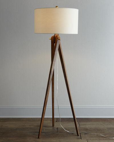 VISUAL COMFORT Tripod Floor Lamp