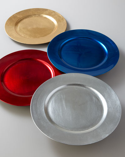 Eight Charger Plates
