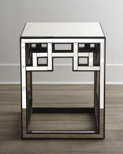 """Mia"" Fretwork Side Table"