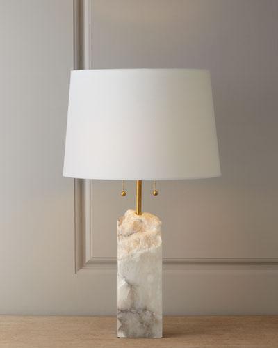 Regina-Andrew Design Raw Alabaster Lamp