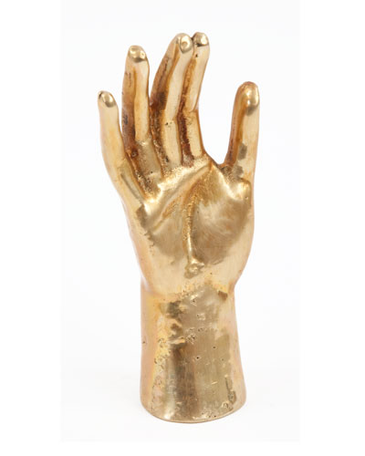 "Kelly Wearstler ""Saint's Hand"" Sculpture"