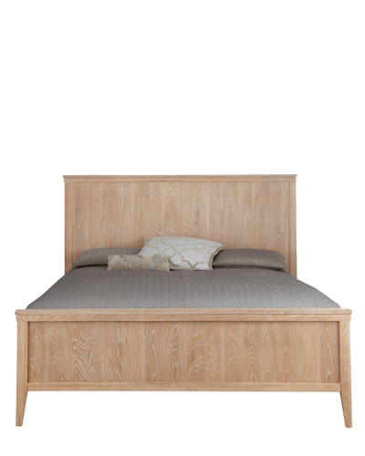 Karington Natural King Panel Bed