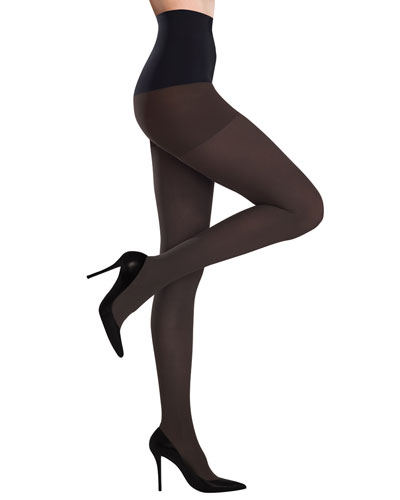Commando Ultimate Opaque Control Tights, Chocolate