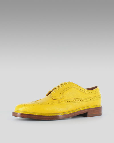 Florsheim Yellow Brogues Lace-up Brogue Yellow