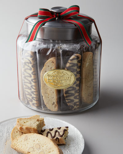 "DICAMILLO BAKING CO ""Biscotti Moderno"" Glass Jar"
