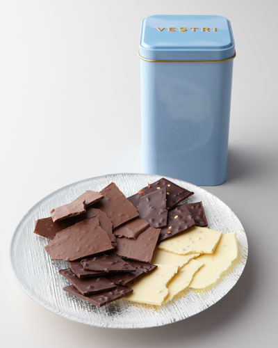"""Sfogliate"" Tin with Chocolate Shards"