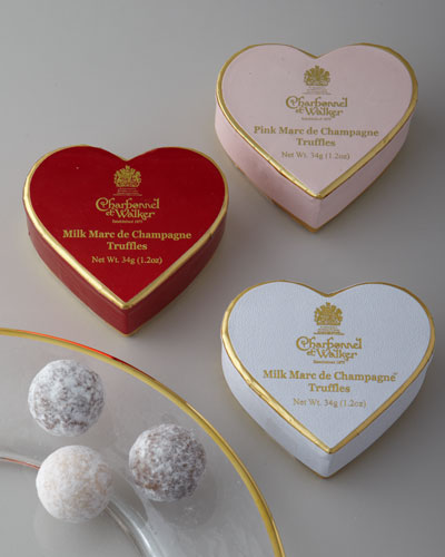 Charbonnel ET Walker Three Mini Hearts