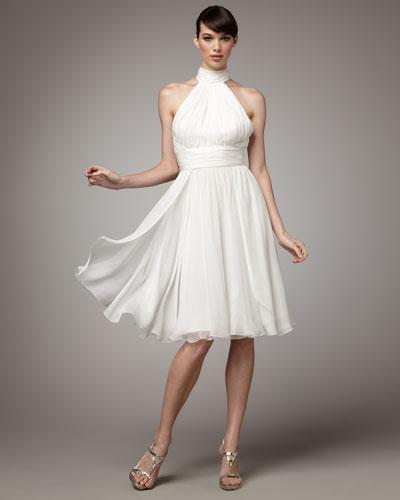 Halter Cocktail Dress