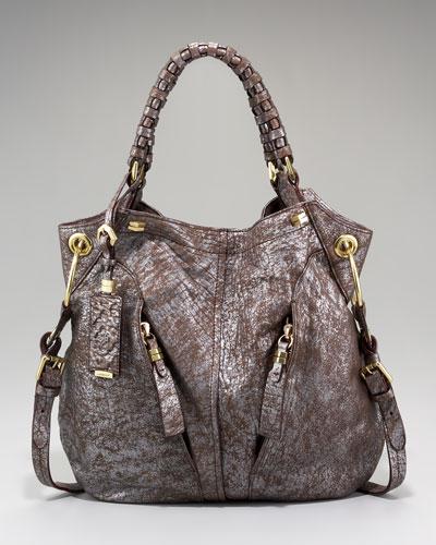 Oryany Gwen Metallic Shoulder Bag 10