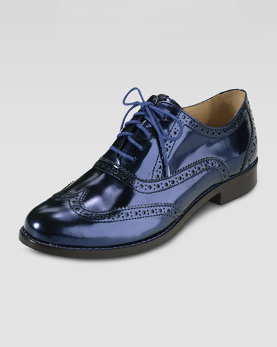 Cole Haan Skylar Lace-Up Oxford, Blazer Blue