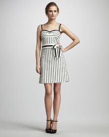 Tory Burch Kinsley Striped Dress