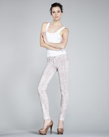 Rich and Skinny Legacy Cobra-Print Skinny Jeans