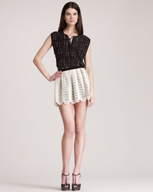 Gryphon New York Lace Skirt
