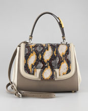 Fendi Silvana Flap-Top Bag
